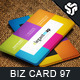 Business Card Design 97 - GraphicRiver Item for Sale