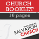 A5 Church Booklet Template - 16 Pages - GraphicRiver Item for Sale
