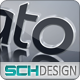 3D Logo With Reflective Ground - VideoHive Item for Sale