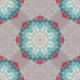 Seamless Pattern with Abstract Elements