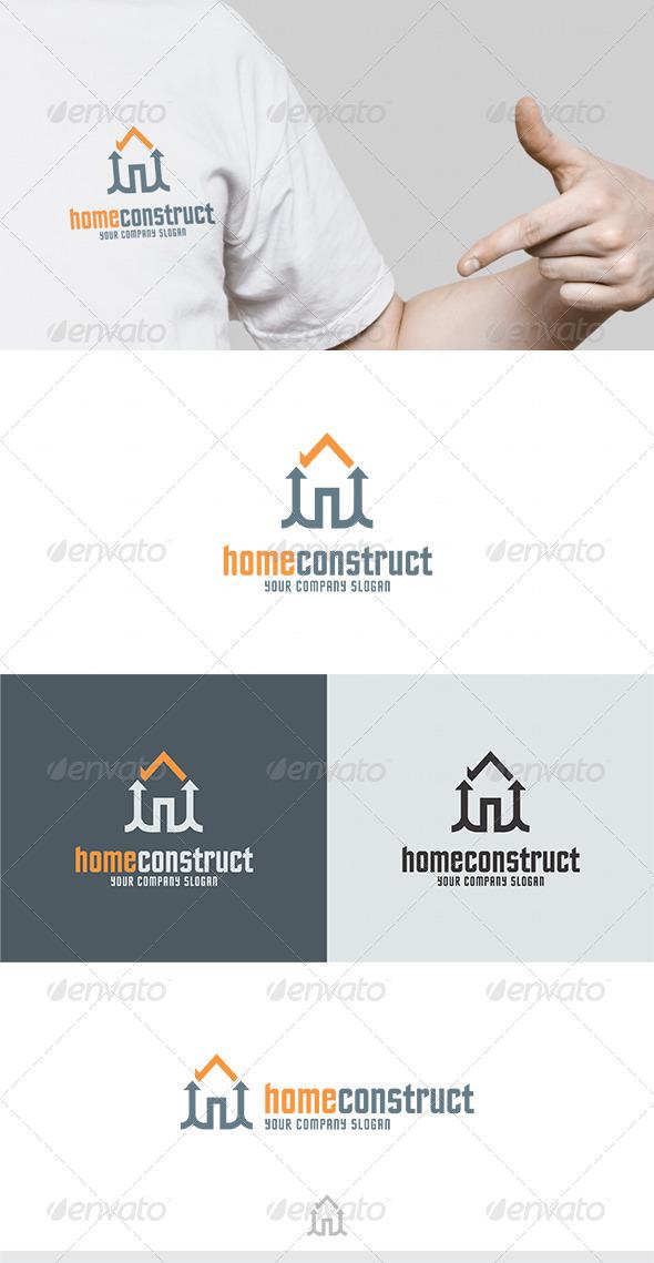 Home Construct Logo - Buildings Logo Templates