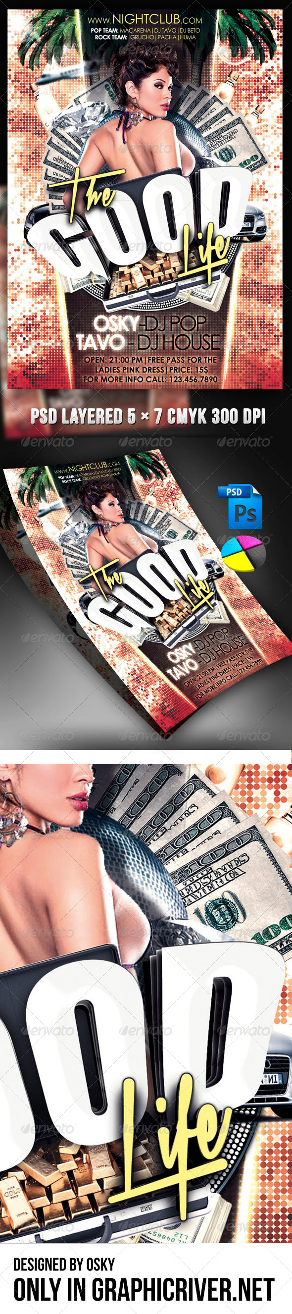 The Good Life - Clubs & Parties Events