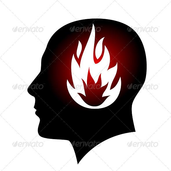 Fired Head - Conceptual Vectors