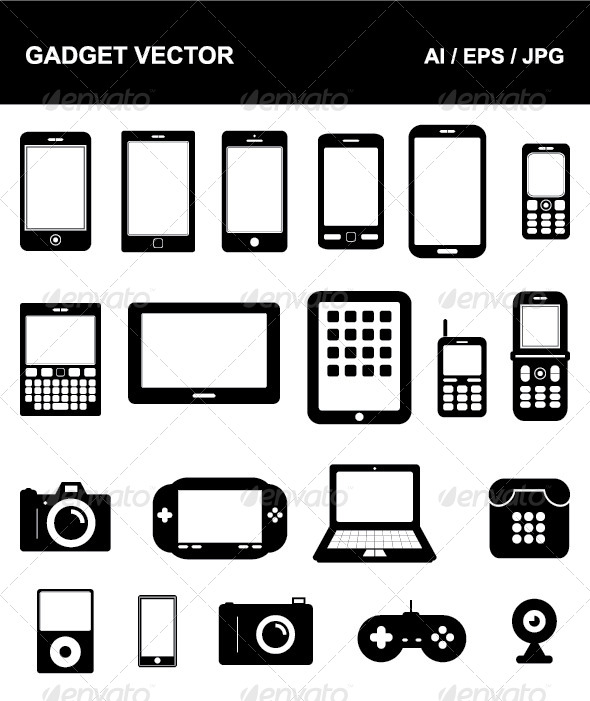 Gadget Vector - Communications Technology