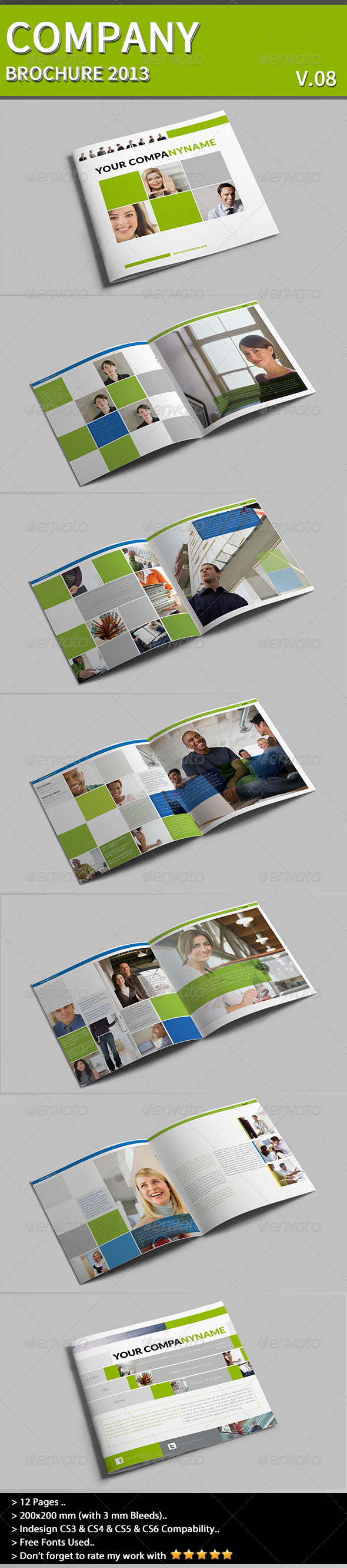 Company Brochure Part 08 - Corporate Business Cards