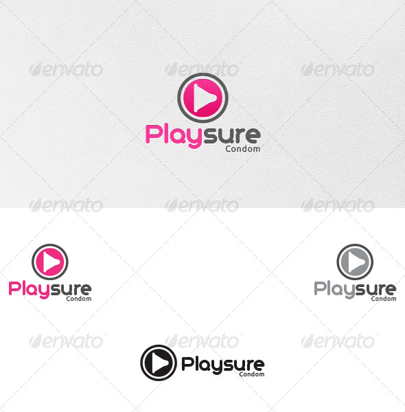 Pleasure (Playsure) - Logo Template - Symbols Logo Templates