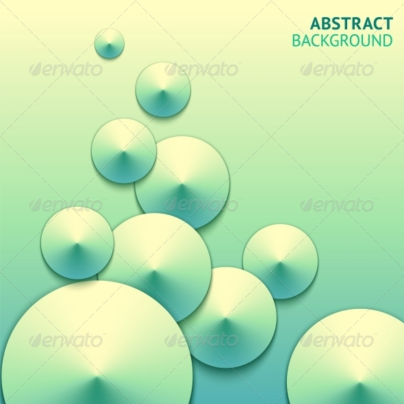 Abstract Paper Bubbles Background - Web Elements Vectors