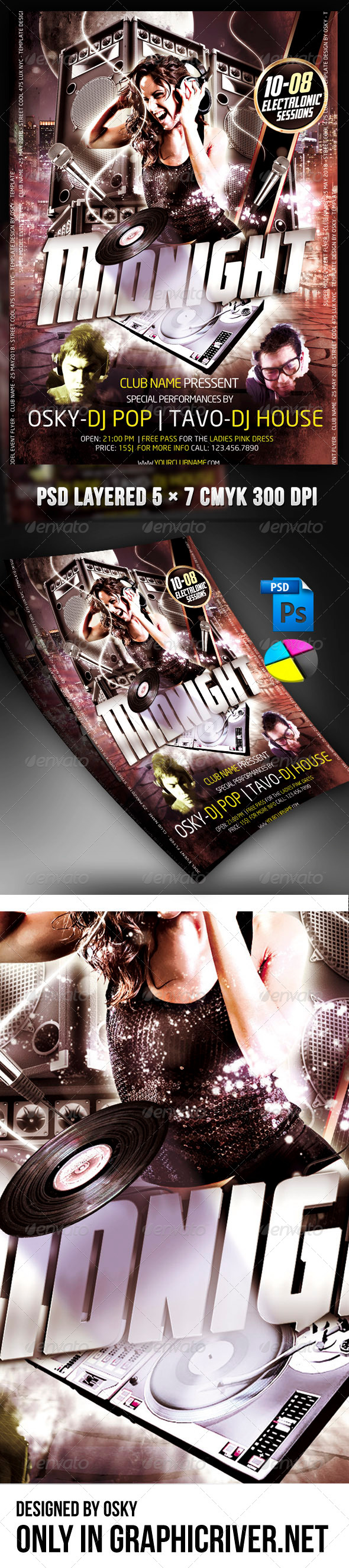 Midnight Party - Clubs & Parties Events