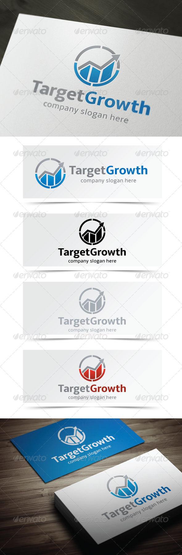 Target Growth - Symbols Logo Templates