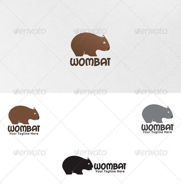 Wombat - Logo Template - Animals Logo Templates