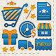 E-commence Icons (Carts & Preferences) - GraphicRiver Item for Sale