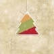 Christmas Card with Holiday Elements. - GraphicRiver Item for Sale