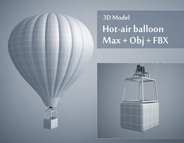 Hot-air Balloon by Mcneels | 3DOcean