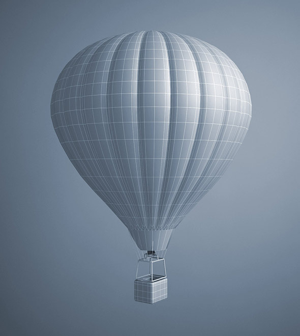 Hot Air Balloon By Mcneels 3docean