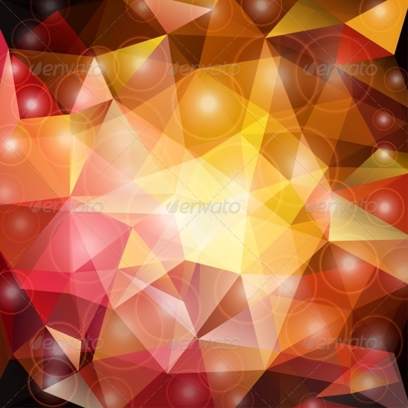 Abstract Triangle Background - Abstract Conceptual