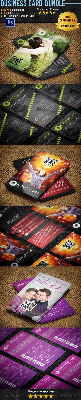 Creative Business Card Bundle 01 - Creative Business Cards