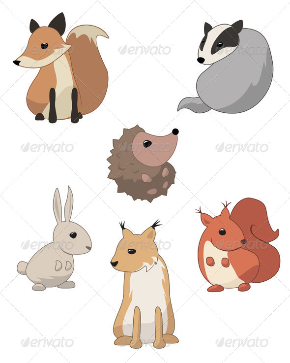 Forest Animals - Animals Characters