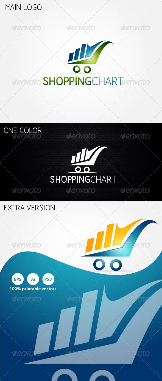 Shopping Chart Logo - Symbols Logo Templates