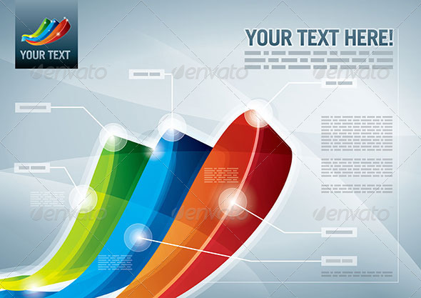 Infographic Presentation Template - Abstract Conceptual