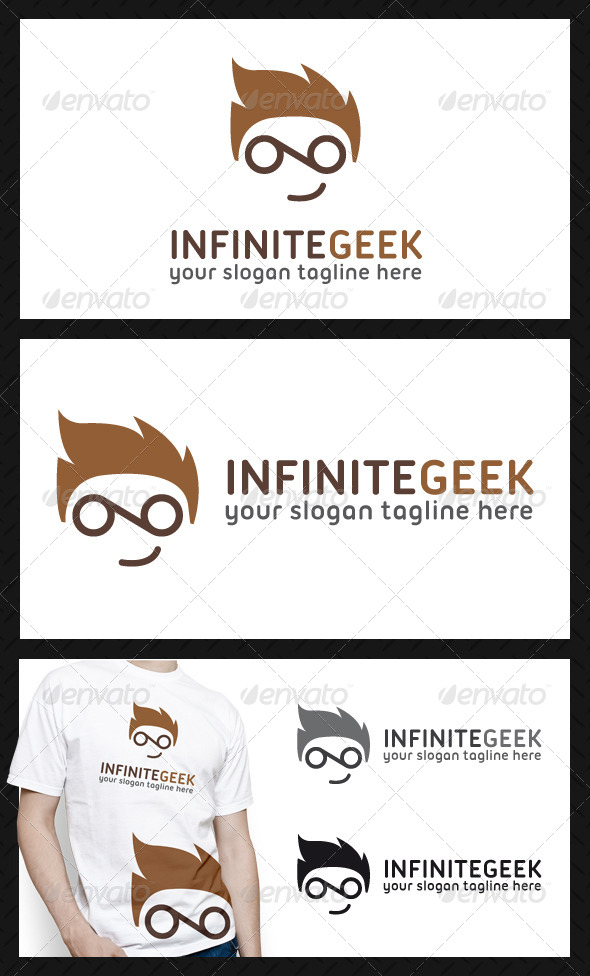 Infinite Geek Logo Template - Humans Logo Templates