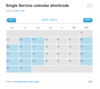 10 single calendar shortcode.  thumbnail