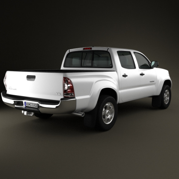 toyota tacoma double cab 2011 by humster3d 3docean. Black Bedroom Furniture Sets. Home Design Ideas