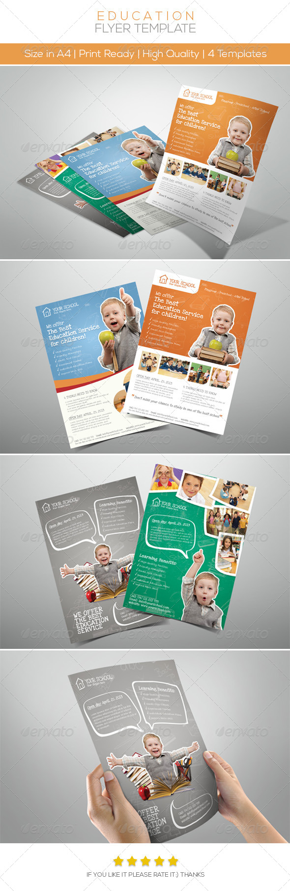 Premium Junior Education Flyers - Flyers Print Templates