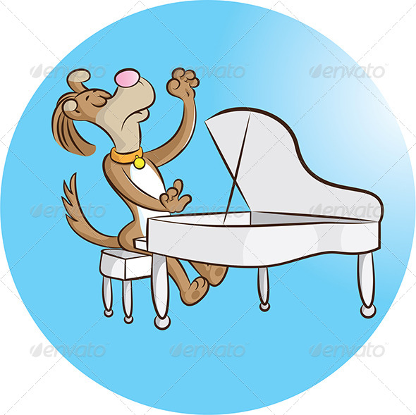 Pianist - Animals Characters