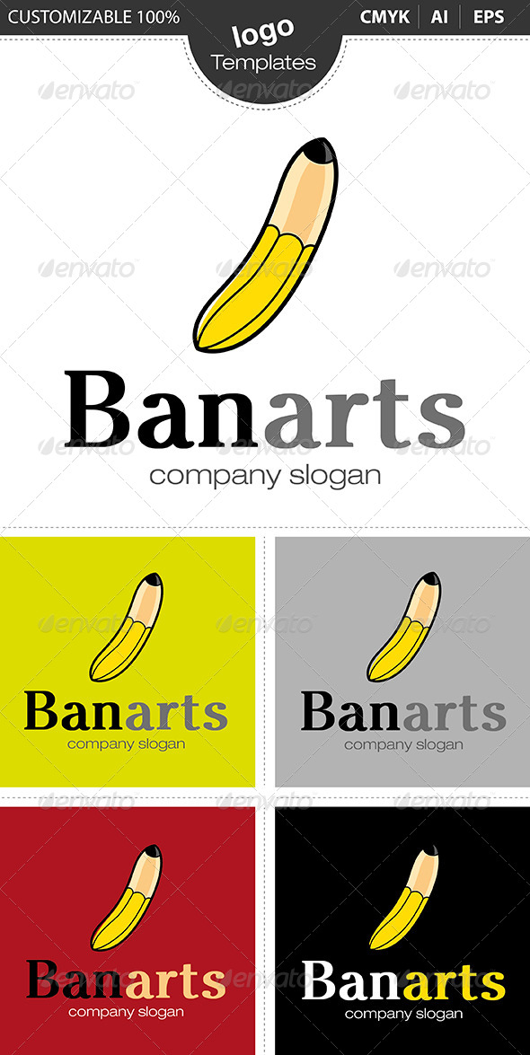 Banarts Logo - Abstract Logo Templates