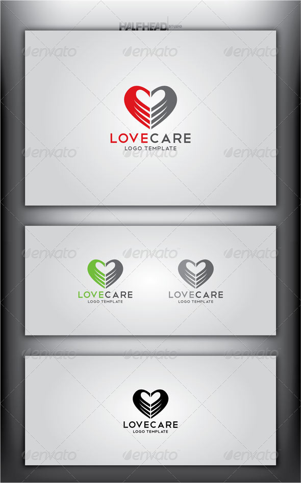 LoveCare Logo Template - Symbols Logo Templates