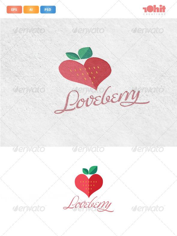 Loveberry Logo Template - Logo Templates