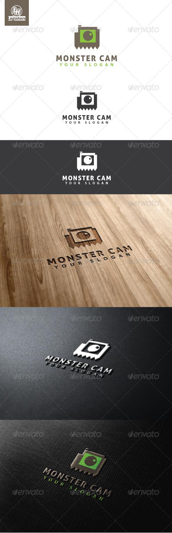 Monster Cam Logo Template - Humans Logo Templates