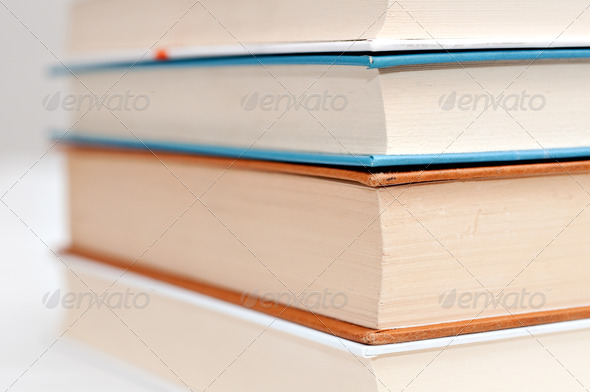 Pile of Books - Stock Photo - Images