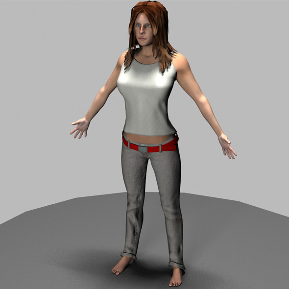 Female  - 3DOcean Item for Sale