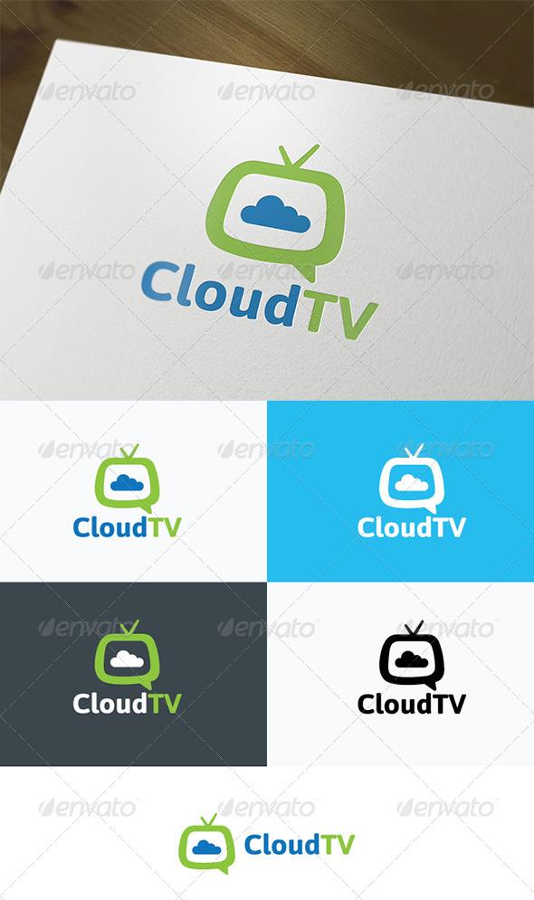 Cloud TV Logo - Nature Logo Templates