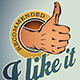 Thumb Up Labels - GraphicRiver Item for Sale