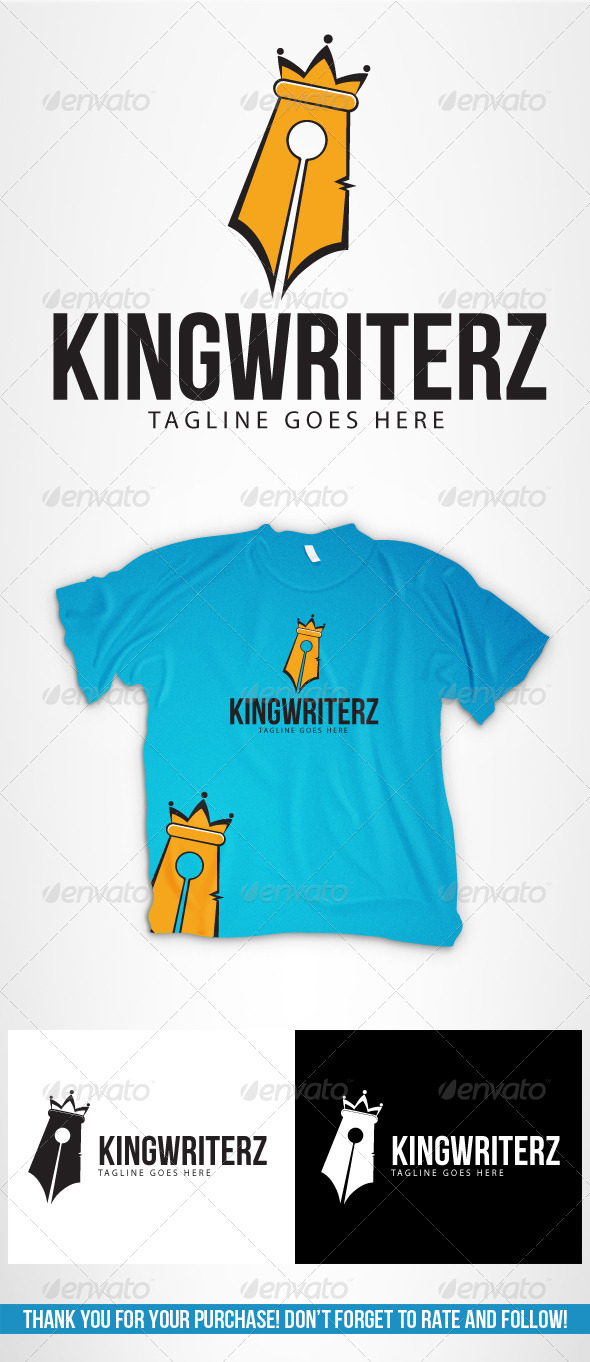 KingWriterz - Logo Templates