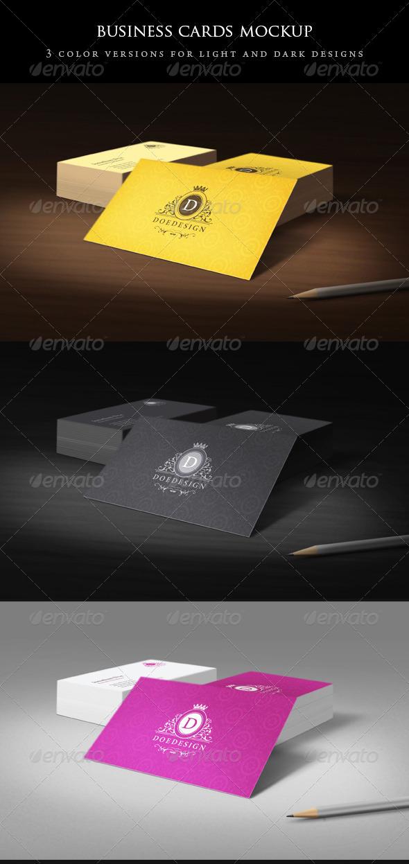 Business Card Mockups - Business Cards Print