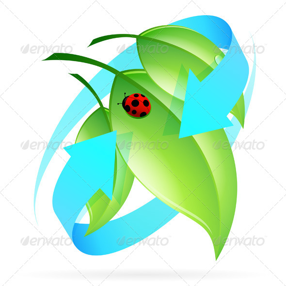 Green Leaves Icon - Flowers & Plants Nature