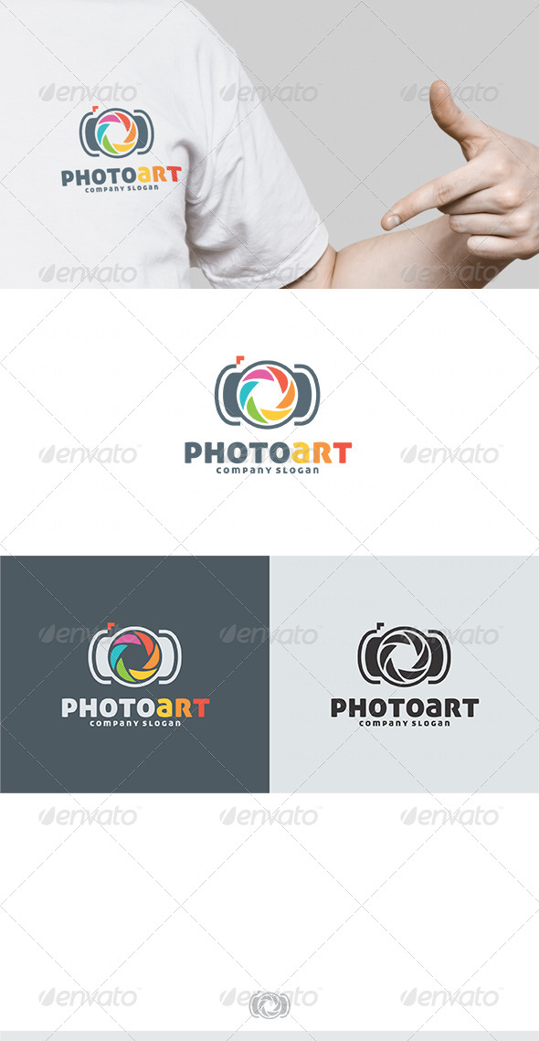 Photo Art Logo - Vector Abstract