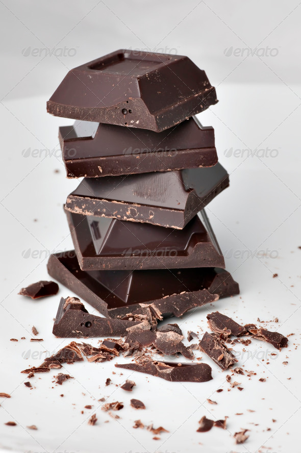 Dark Chocolate - Stock Photo - Images
