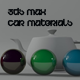 3ds Max Studio & 5 Car Modified Materials - 3DOcean Item for Sale