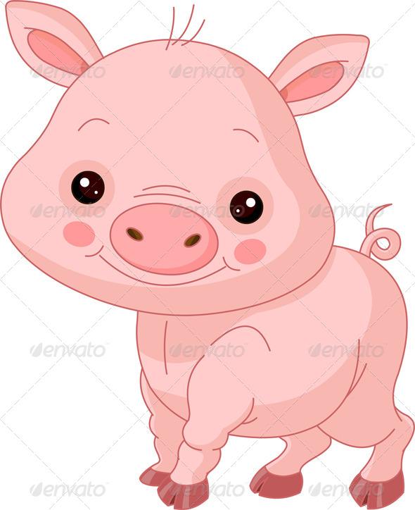 Fun Zoo Pig - Animals Characters