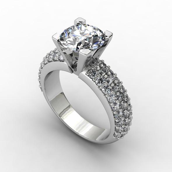 NR Design Callista Ring - 3DOcean Item for Sale