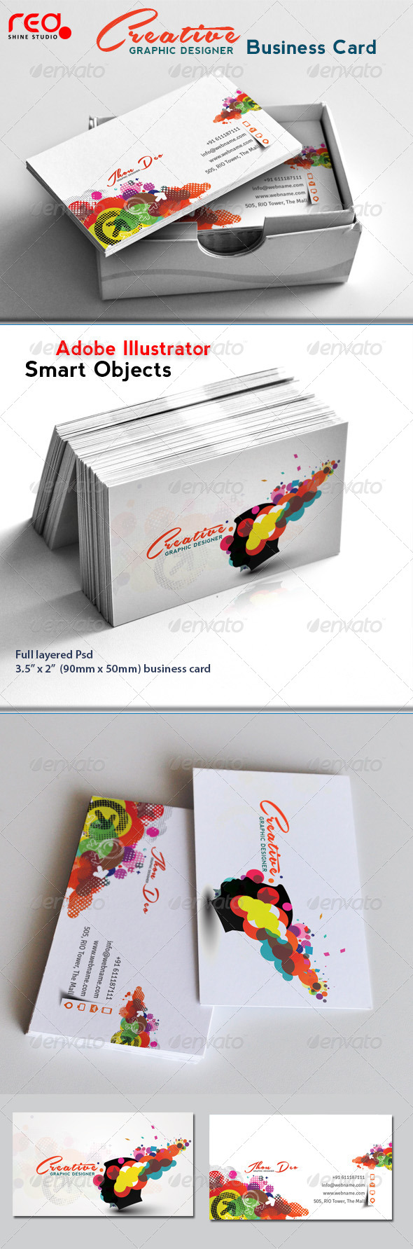 Creative Elegant Business Card - Creative Business Cards