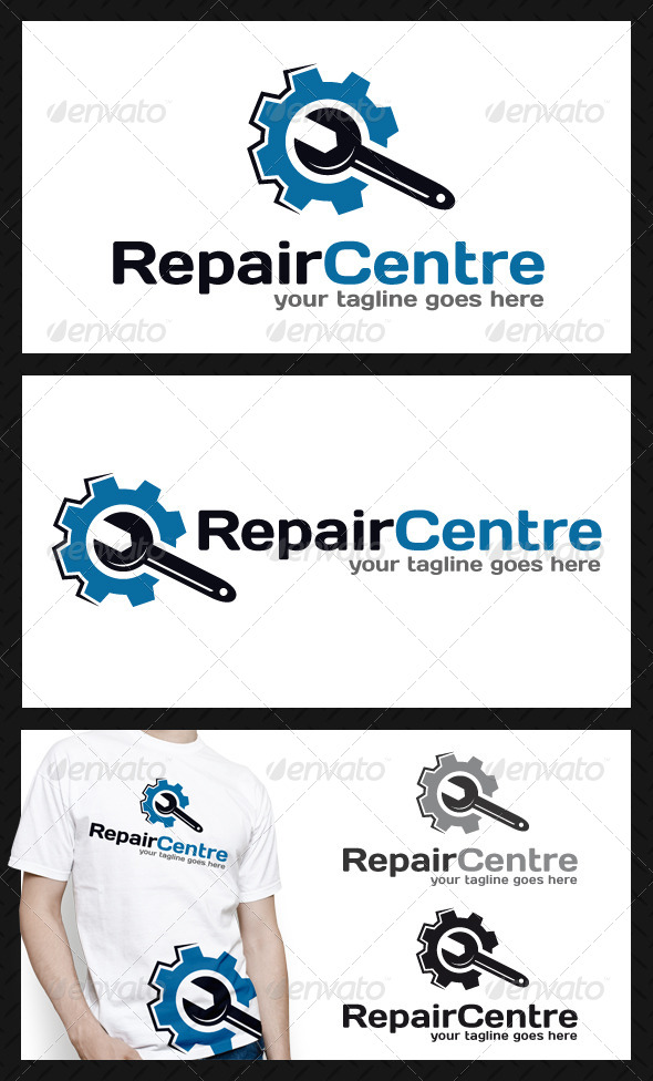 Repair Service Logo Template - Objects Logo Templates