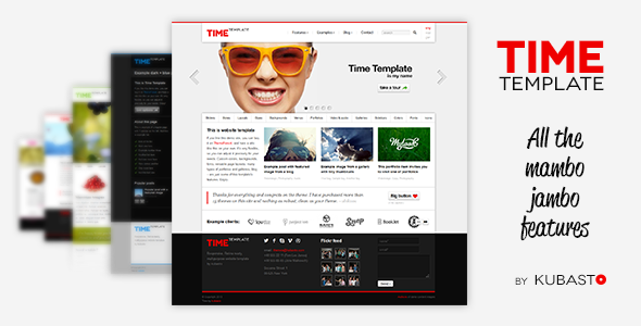 Time – Responsive Website Template