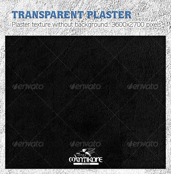 Transparent Plaster Texture - Stone Textures