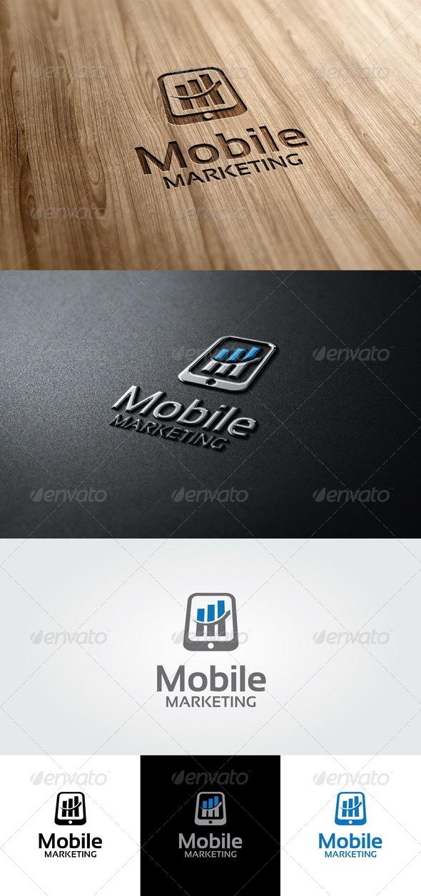 Mobile Marketing  - Symbols Logo Templates