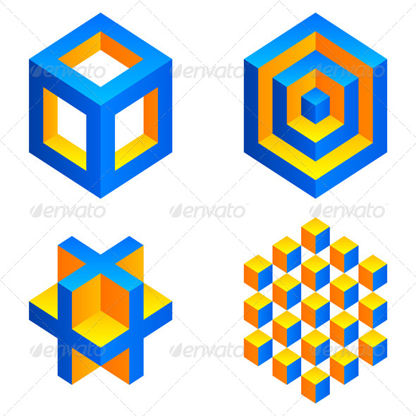 Geometric Figures - Abstract Conceptual